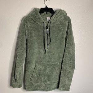 PINK Victoria's Secret Teddy Zip-Up Jacket